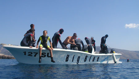 Diving Bol island Brac Croatia