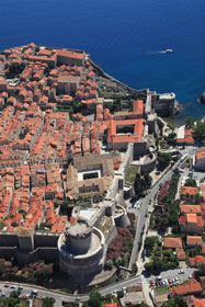 Old town Dubrovnik view